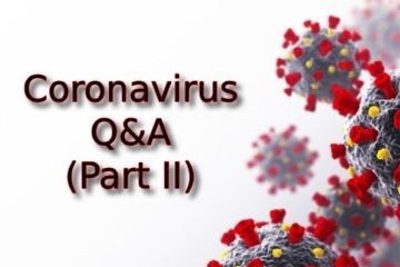 Coronavirus Q&A Part 2